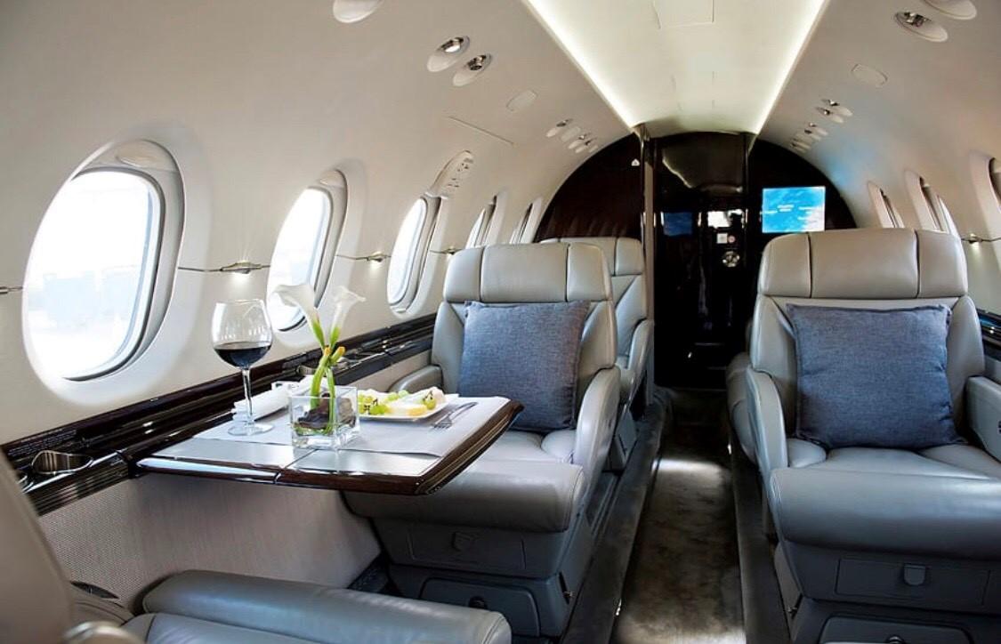 Beechcraft Hawker jet privé
